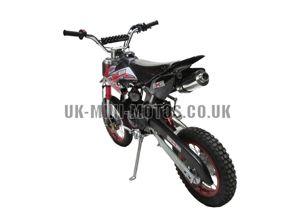 Dirt Bikes - Pit Bikes - Dirtbikes - 110cc Dirt Bike Black
