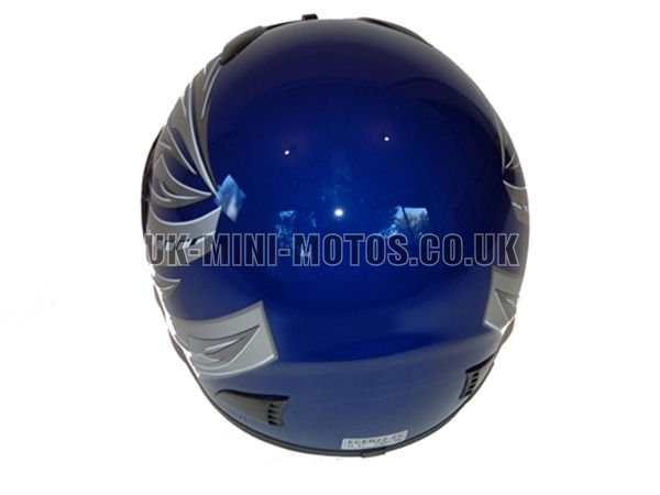 Helmets Blue - Adult and Kids Helmets Blue - Motorcycle Helmets Blue - Crash Helmets Blue - Motorbike Helmets Blue