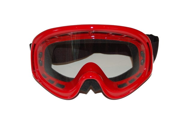 Kids Helmet Goggles Red - Childrens Helmet Goggles Red - Kids Motorcycle Goggles Red - Kids Motorbike Goggles - Kids Motorcross Helmet Goggles Red