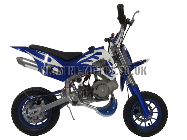 Mini Dirt Bike - Mini Dirt Bike DB02 blue - Mini dirt bike