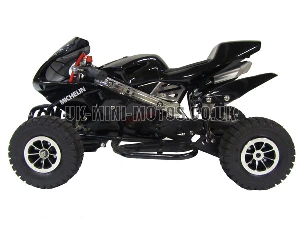 Mini Quad Bikes - Mini Quad Bike Black - Mini Moto Quads Black