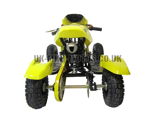 Mini Quad Bikes - Mini Quad Bike Yellow - Mini Moto Quads Yellow