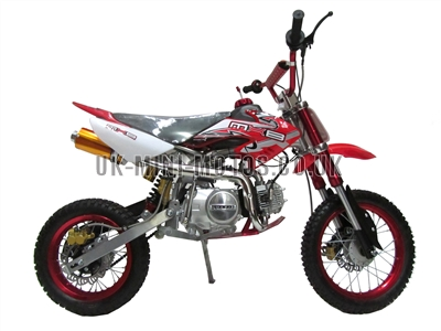 Dirt Bikes - Pit Bikes - Dirtbikes - 125cc Dirt Bike Red