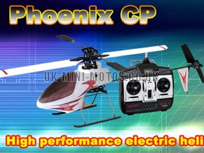 RC Electric Helicopter - Radio Controlled Helicopter - Phoenix 3D Electric RC Helicopter