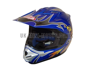 Helmets Blue Motorcross - Adult and Kids Helmets Blue Motorcross - Motorcycle Helmets Blue Motorcross - Crash Helmets Blue Motorcross - Motorbike Helmets Blue Motorcross
