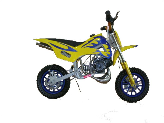 Mini Dirt Bike - Mini Dirt Bike Yellow - Mini Dirt Bike