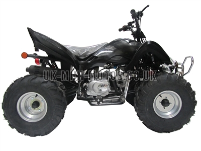 Quad Bikes - 110cc Quad Bike Black - Off Road Quads