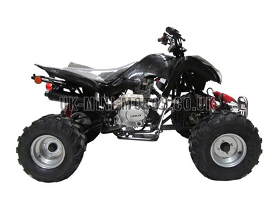 Quad Bikes - 200cc Quad Bike Black - Off Road Quads