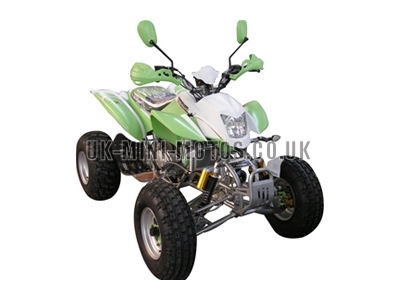 Road Legal Quad Bikes for Sale - 150cc Quad Green - Road Legal Quads