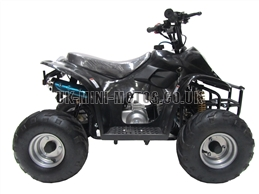 Kids Quad Bikes - 50cc Childrens Quad Bike Black - Off Road Quads