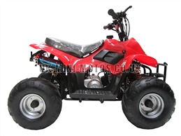 Kids Quad Bikes - 50cc Childrens Quad Bike Red - Off Road Quads