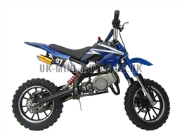 Mini Dirt Bike - DB02-C Blue Mini dirtbike - Mini Dirt Bikes  - Pocket Bikes - Minimotos - Mini Moto