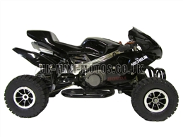 Mini Quad Bikes - Mini Quad Bike Black - Mini Moto Quads Red