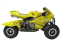 Mini Quad Bikes - Mini Quad Bike Yellow - Mini Moto Quads Red