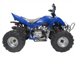 Quad Bikes - 110cc Quad Bike Blue - Off Road Quads