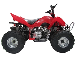 Quad Bikes - 110cc Quad Bike Red - Off Road Quads