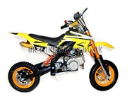 Mini Dirt Bike - Mini Dirt Bike DB02C yellow - Mini dirt bike