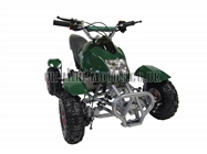 Mini Quad Bikes - Mini Quad Bike Green - Electric Start Mini Moto Quad