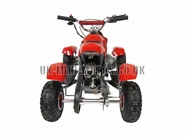Mini Quad Bikes - Mini Quad Bike Red - Electric Start Mini Moto Quad