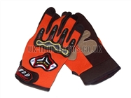 Motorbike Gloves Orange - Adult and Kids Motorbike Gloves - Motorcross Gloves - Orange Motorcycle Gloves - Trials Gloves