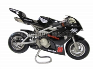 Water Cooled Mini Motos - Minimoto - Pocket Bikes - Black Water Cooled Mini Moto